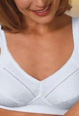 Amoena Amoena Nora prothese Bh zonder beugel met hoog katoen gehalte kleur nougat, wit of zwart