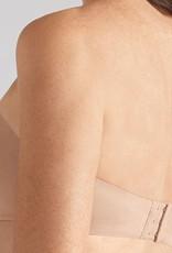 Amoena Amoena  Barbara Strapless/multiway Prothese bh met beugel in zwart & huidkleur