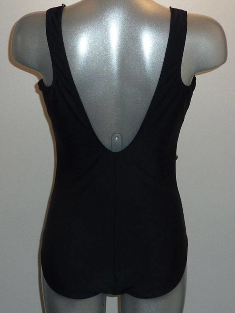 Susa Susa Melosa prothese badpak zwart-print mt B40, B50,D42 of D46