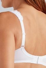 Amoena Amoena Rosalie Prothese Bh zonder beugel in wit & huidkleur