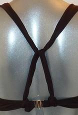 Sapph Sapph Ipanema bikinitop met beugel & voorvorm  kleur bruin