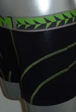 Dim ondergoed  Sport boxershort met korte pijp kleur zwart of indigo blauw