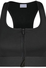 Amoena Amoena Zipper prothese SportBh zonder beugel & medium Support kleur zwart mt S tm XL