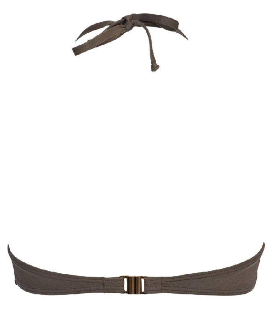 Sapph Sapph Beach Anise bandeau beugel bikinitop & uitneembare onderpadding kleur taupe