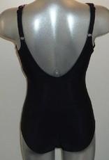 Susa Susa Jonancy chloorbestendige prothese badpak zonder beugel kleur zwart met print