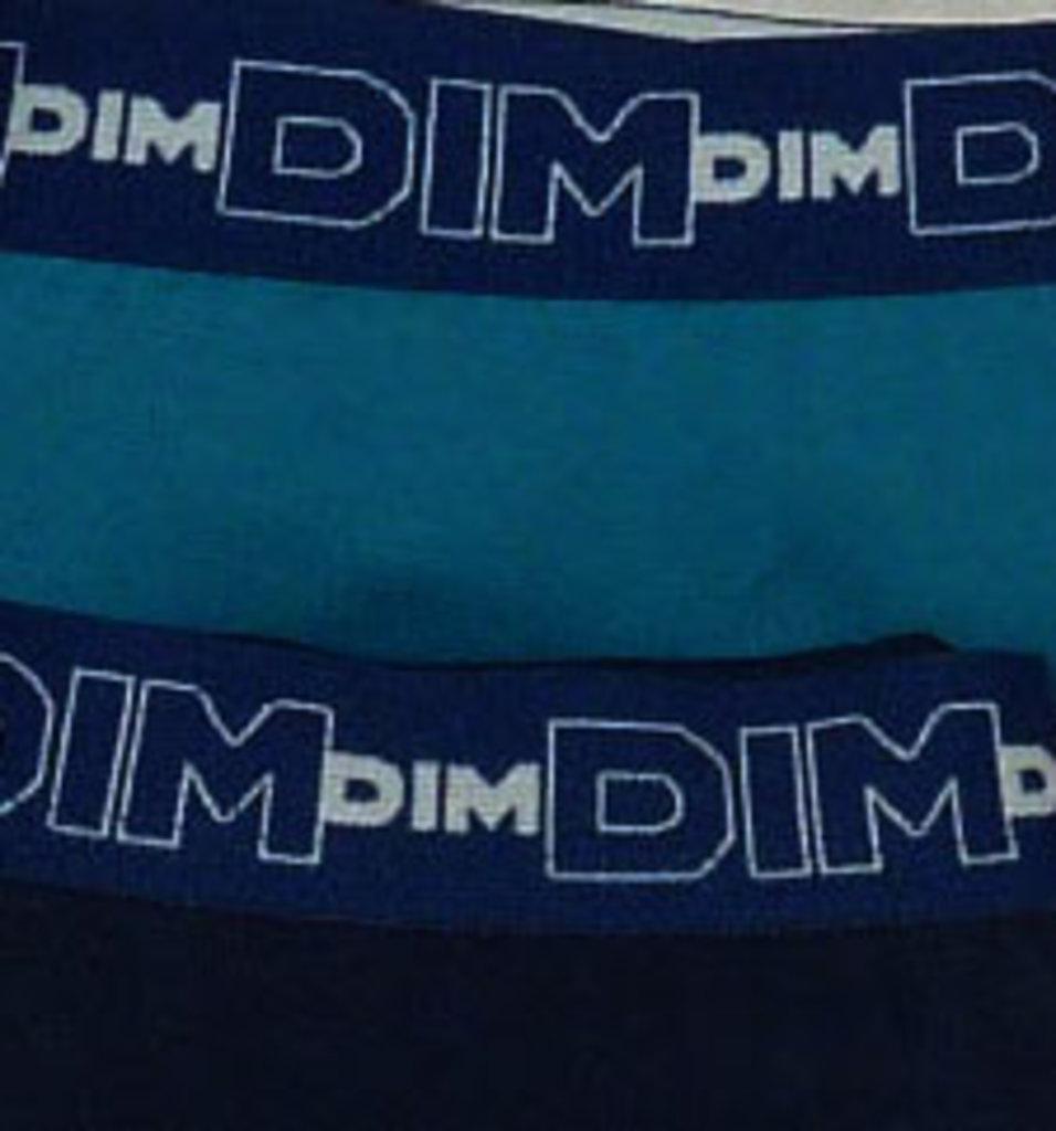 Dim ondergoed Dim tweedelig RealCool Cotton slipset mt M kleur petrolblue & marine
