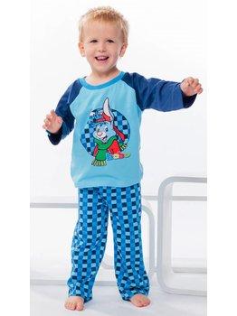 Studio 100 Studio 100 Bobo katoenen jongens pyjama blauw mt 86/92