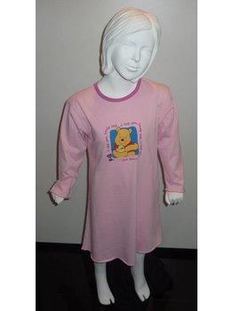 Studio 100 Studio 100 Winnie de Pooh katoenen meisjes nachtjurkje kleur roze