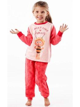 Studio 100 Maya de bij Sweet Like Honey  meisjes pyjama kleur pink
