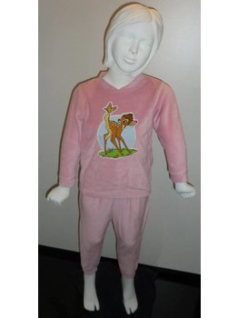 Lunatex Lunatex Disney velours pyjama Bambi of  Winnie the pooh