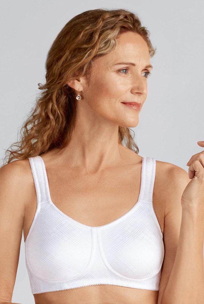 Amoena Amoena Dianna prothese Bh zonder beugel kleur zilvergrijs, rose huidskleur, wit of  zwart