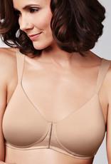 Amoena Amoena  Lara comfort Prothese T-shirt Bh zonder beugel & lichte voorvorm kleur zwart & huid