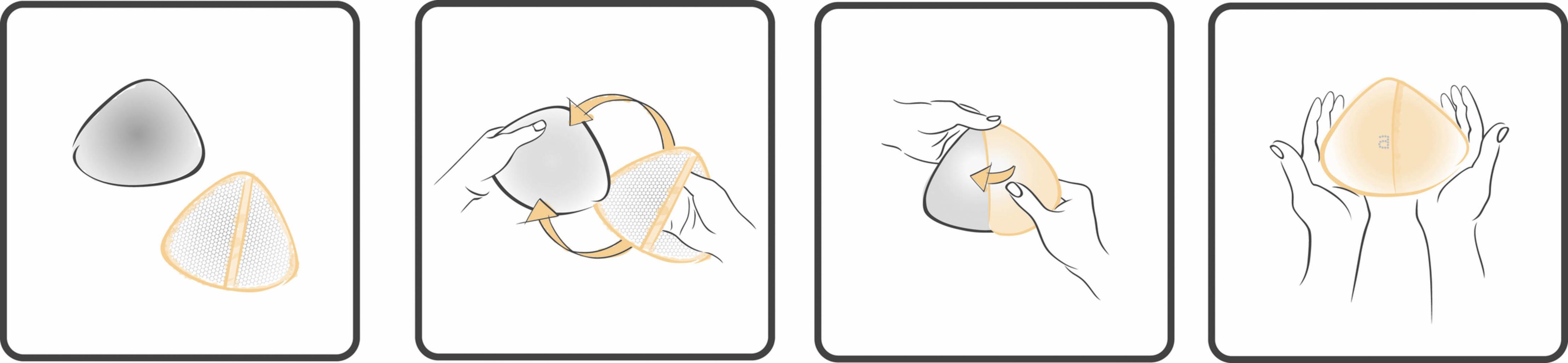 Amoena Amoena Leisure Form comfort+ schuimprothese