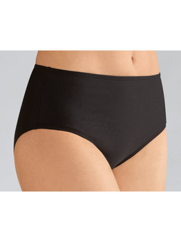 Amoena Amoena Cayman hoge chloorbestendige bikinislip kleur zwart