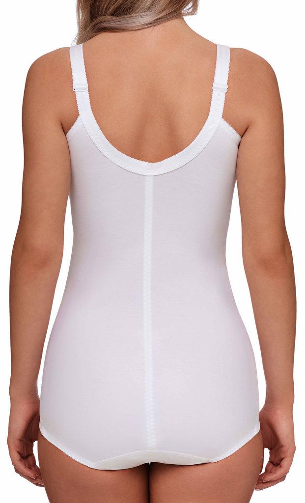 Susa Susa Elize Classic corselet zonder beugel in wit of  huidkleur