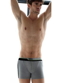 Dim ondergoed Dim Dynamix cotton stretch boxershort grijs mt L & XL of zwart mt M
