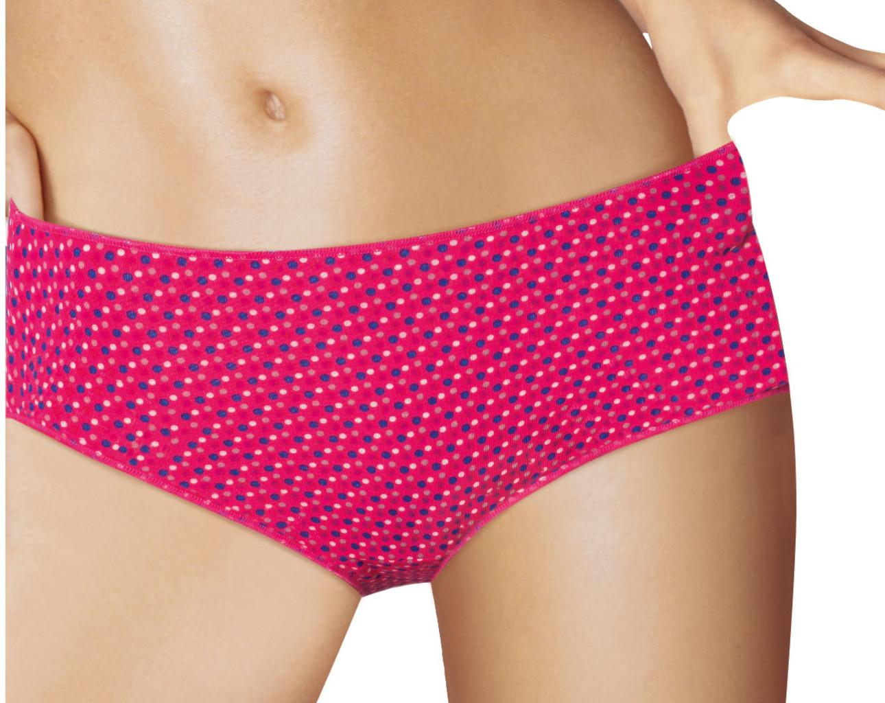 Dim ondergoed Dim Microfaser Fantasie Boxershortset kleur pink & print of marine & print