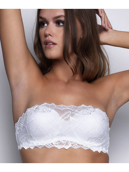 After Eden After Eden Anna Lace bandeau/strapless Bh met beugel kleur wit of zwart