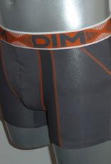 Dim ondergoed Dim 3D flex air boxershortset kleuren zwart & royal blue of grijs & aqua blauw