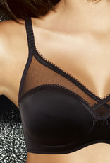 Dim ondergoed Dim Osmose Bh zonder beugel & lichte voorvorm, in zwart, rood of champagne