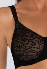 Amoena Amoena Annette prothese Bh met beugel kleur champagne of zwart met huid gecombineerd