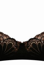 Wonderbra Wonderbra Glamorous Lace Balconette Bh kleur zwart of Ivoor