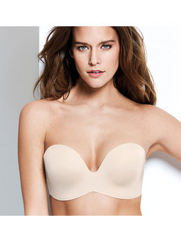 Wonderbra Wonderbra New Ultimate Strapless Bh kleur ivoor
