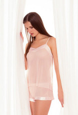 BlueBella  Georgia Chiffon Cami & Short kleur licht pink