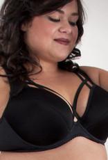 Syl Design Syl Design Anna Bh met beugel & licht voorgevormde cup kleur zwart