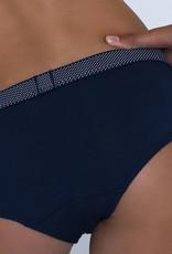 Boobs & Bloomers Boobs & Bloomers Anny katoenen boxer kleur marineblauw