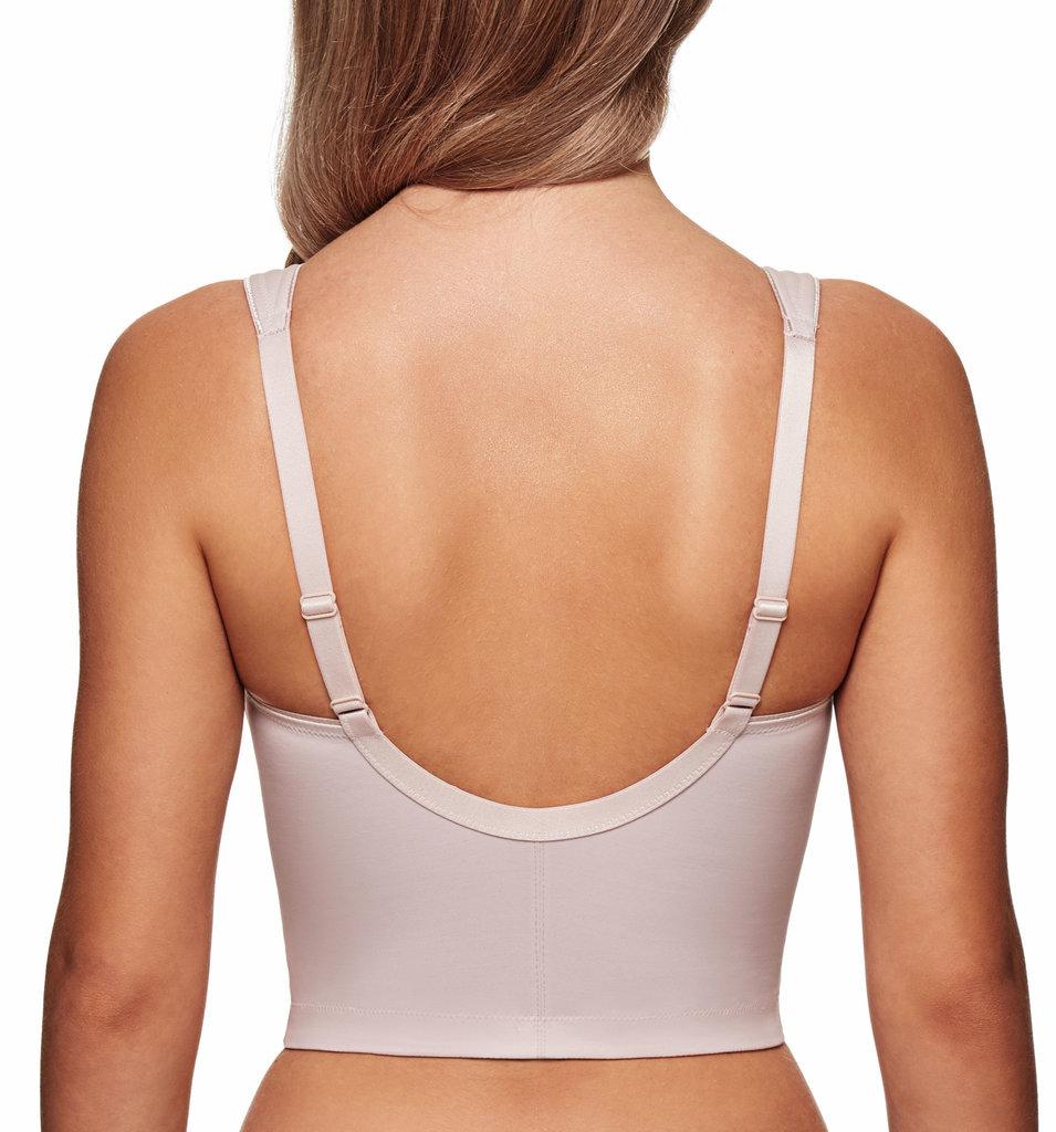 Susa Susa London minimizer Bh zonder beugel & maagband basis kleur wit of huid