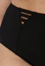 Elomi Elomi Magnetic hoge bikinislip kleur zwart