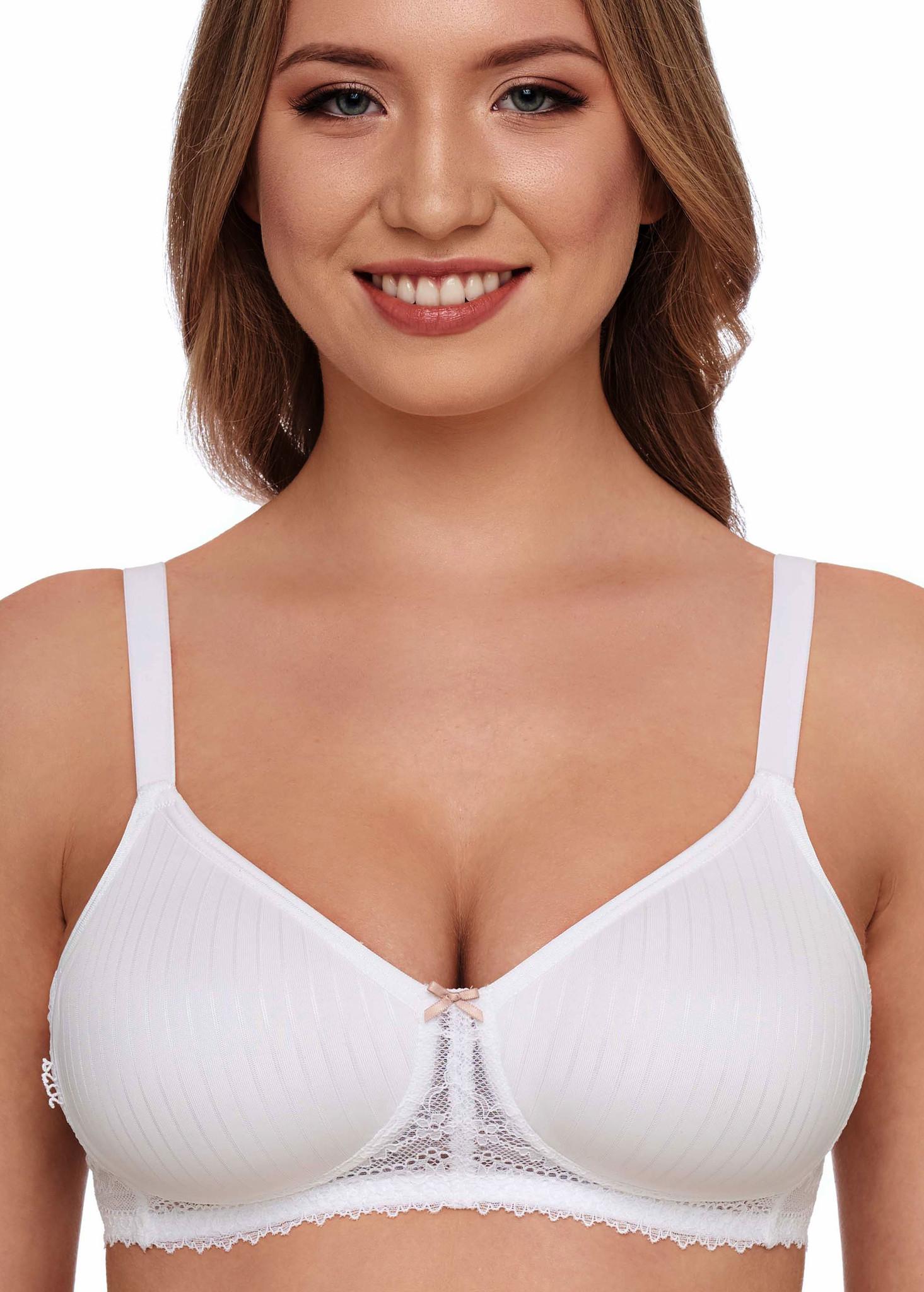 Nuance Bralette-BH ohne Bügel mit dekorativem Rücken aus
