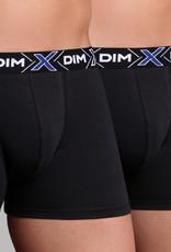 Dim ondergoed Dim- X-temp tweedelig cotton stretch boxerset,navy-blue, rood-zwart & zwart-zwart