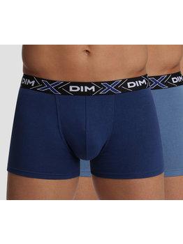 Dim ondergoed Dim- X-temp tweedelig cotton stretch boxerset