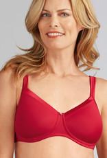 Amoena Amoena Lara Satin prothese Bh zonder beugel & lichte voorvorm kleur rood