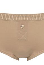 Boobs & Bloomers Boobs & Bloomers Audrey katoenen heup boxershort kleur grijs of  wit