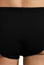 Dim ondergoed Dim Soft Power tweedelig slipset cotton stretch basis kleur zwart