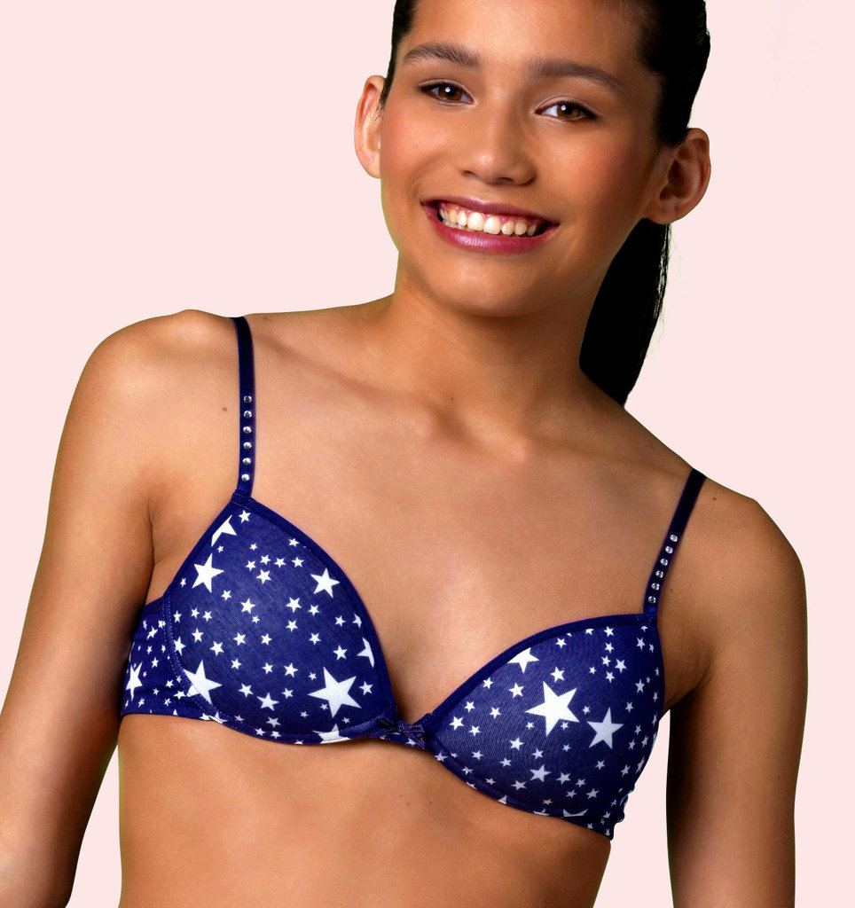 Boobs & Bloomers Boobs & Bloomers Sparkling Stars Bh zonder beugel & lichte voorvorm
