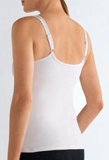 Amoena Amoena Valletta prothese basis top zonder beugel & licht voorgevormde cup kleur wit