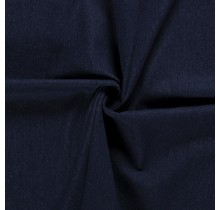 Jeansstoff brushed navy 145 cm breit