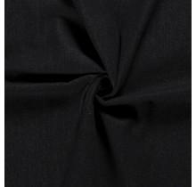 Jeansstoff brushed schwarz 145 cm breit
