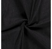 Jeansstoff gewaschen Premium schwarz 150 cm breit