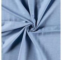Jeansstoff gewaschen deluxe babyblau 145 cm breit