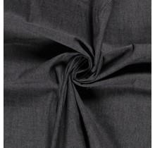 Jeansstoff gewaschen deluxe schwarz 145 cm breit