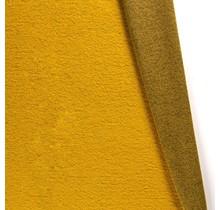 Kochwolle Klassik gelb 140 cm breit