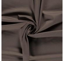 Jersey Viskose Polyamid taupe braun 160 cm breit