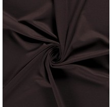 Jersey Viskose Polyamid dunkelbraun 160 cm breit