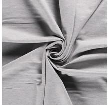 Jersey Viskose Polyamid hellgrau 160 cm breit