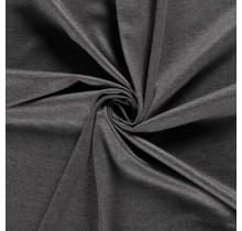 Jersey Viskose Polyamid mittelgrau 160 cm breit
